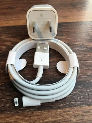 One set of brand new apple iPhone charger for Sale in Citrus Heights, CA