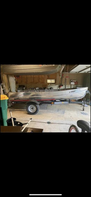14 foot aluminum lonestar boat for Sale in Joliet, IL
