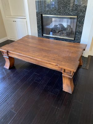 Big Brown Coffee Table for Sale in San Diego, CA