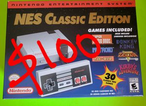 Nintendo NES Classic Edition NES Mini System with 30 Games for Sale in Fontana, CA