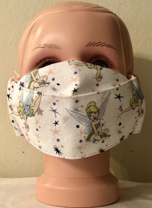 Disney Tinkerbell Kid Size 3D Face Mask for Sale in Los Gatos, CA