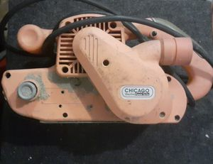 Chicago Electric Power Tools 3 in.x 21 in Professional Belt Sander for Sale in Phoenix, AZ