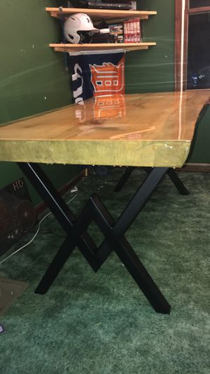 Live edge kitchen table for Sale in Hesperia, MI