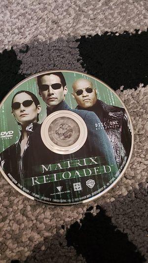 Matrix Reloaded Movie CD for Sale in Fremont, CA
