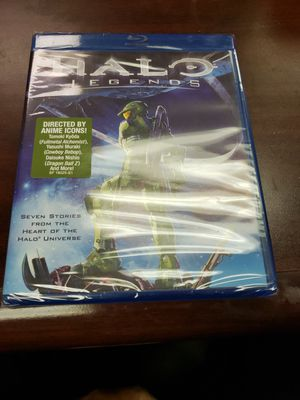Halo Legends Blu Ray for Sale in Odessa, TX