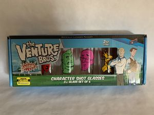 Venture Bros. Collectible Shot Glasses for Sale in Burbank, CA
