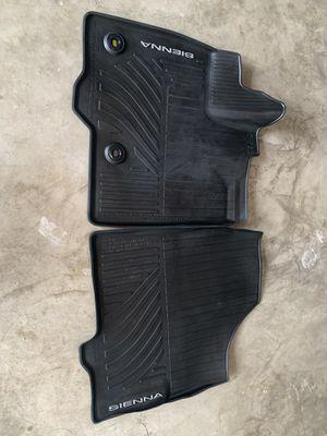 Toyota Sienna rubber mats for Sale in Orlando, FL