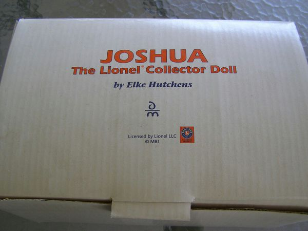 Danbury Mint Lionel collector doll