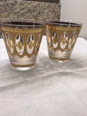 Antique Gold Glasses Set of 9 for Sale in Williamsburg, VA