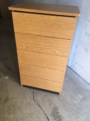 Wooden chest of drawers for Sale in Austin, TX