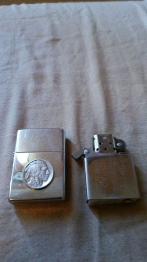 Zippo lighter with indian head nickels for Sale in Los Angeles, CA