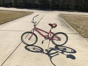 "Girls bike beach cruiser pink Next bicycle. 20"" for Sale in Flat Rock, MI"