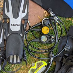 """Oceanic Aqualung Mares Scuba Package: Total Scuba Package $395 """"read more""""for individual item prices for Sale in Las Vegas, NV"""