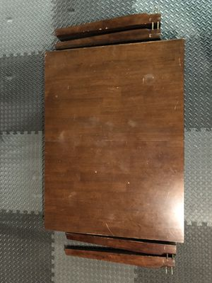 Wooden Kitchen Table with Leaf Insert for Sale in Wood Dale, IL