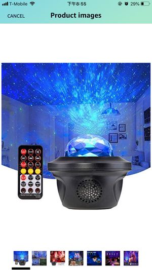 Star Projector Night Light with Bluetooth Speaker 3 in 1 Sound Control Led Night Light Mini Galaxy Projector for Kids with Timer for Bedroom Home The for Sale in Oldsmar, FL