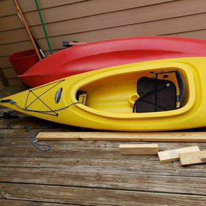 FUSION 124 Kayak. Choose Either Red Or Yellow. for Sale in Abilene, TX