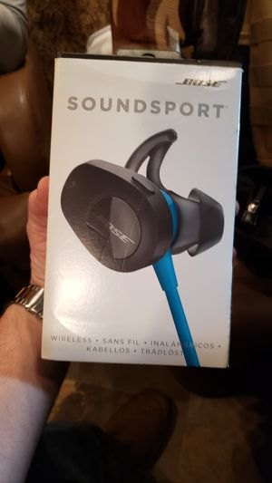 Bose sound sport wireless bluetooth earbuds for Sale in Piedmont, SC
