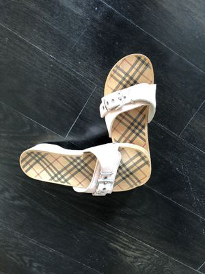 Burberry Sandals SALE! for Sale in Raleigh, NC