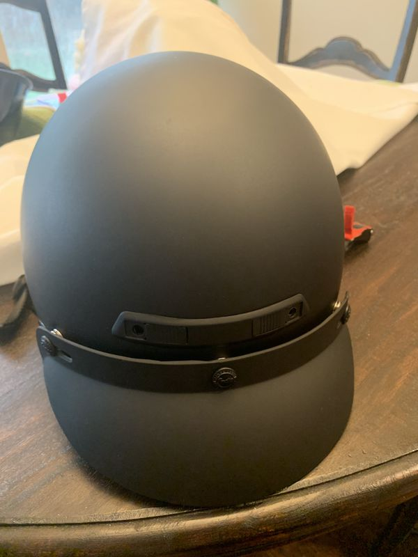 Indian Highway motorcycle Half-Helmet - XL