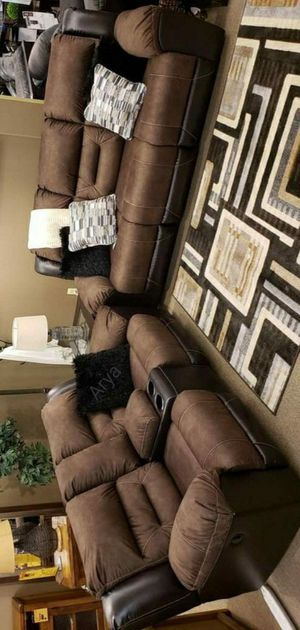 🔥Black Friday Sale‼️İn stock Reclining livingroom set🆕️Same Day Delivery for Sale in Jessup, MD