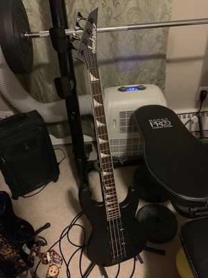 Jackson neckthrough body bass guitar I paid $895 One year ago for Sale in Arvada, CO