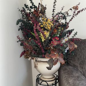 Artificial Flower Bouquet With Vase for Sale in Catonsville, MD