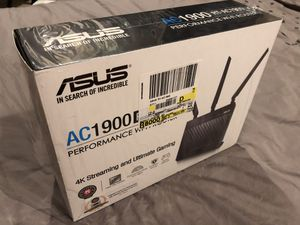 ASUS AC1900RT AC router like new for Sale in Havertown, PA