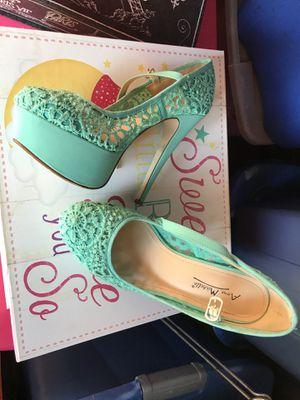 Turquoise heels for Sale in Mount Juliet, TN