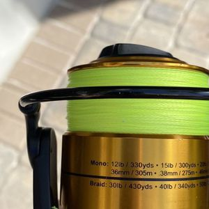 Penn Spin fisher Combo V6500 Reel And Paired rodd for Sale in Delray Beach, FL