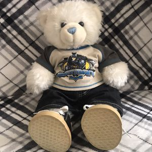 Build-A-Bear white and blue teddy bear for Sale in San Jose, CA