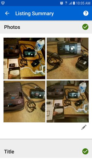 Resmed Airsense 10 Autoset CPAP Machine for Sale in Dallas, TX