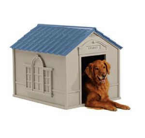 Suncast Deluxe Personalized Large Dog House DH 350 for Sale in Austin, TX