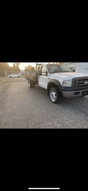 2006 ford f450 flatbed Power stroke diesel 4x4 for Sale in Auburn, WA