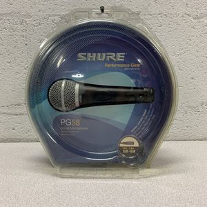 SHURE PG58 VOCAL MICROPHONE. NO LOWBALLERS NO TRADES IN-STORE PICK-UP ONLY for Sale in Stickney, IL