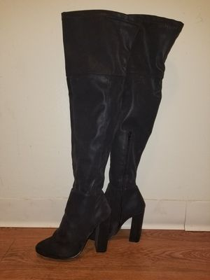Size 7.5 thigh high boots for Sale in National City, CA