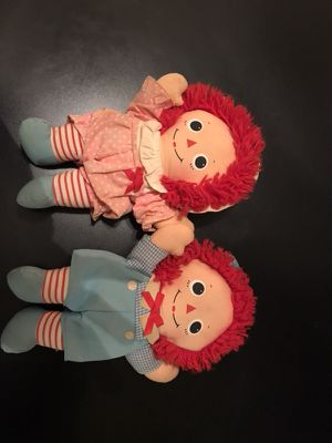 Raggedy Ann & Andy dolls for Sale in Cleveland, OH