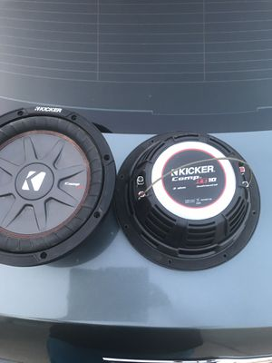 """2 new Kicker comp rt 10"""" for Sale in Fresno, CA"""