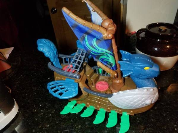 Imaginext Dragon Viking/Pirate Ship - Swims with Imagination