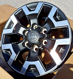 "2019 TOYOTA TACOMA TRD RIMS OFF-ROAD NEW OEM 16"" INCH for Sale in Houston, TX"