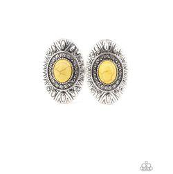 Yellow Sandstone Post Earrings for Sale in Orlando,  FL