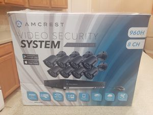 Amcrest security cameras system for Sale in Humble, TX