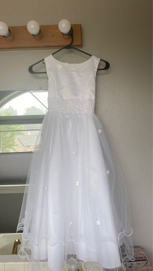 Flower girl/first communion dress 9-10 for Sale in Portland, OR