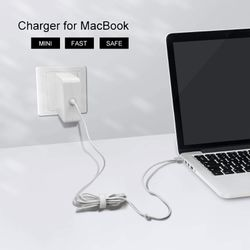 Mac Book Pro Charger, 85W Magsafe 2 Power Adapter Replacement for MacBook Pro with Retina Display Charge Magnetic T-Tip Laptop 13/15 /17 Inch for Sale in Ontario,  CA