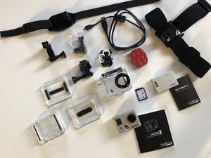 GoPro Hero2 Bundle with WiFi Complete Mint Condition for Sale in Sammamish, WA