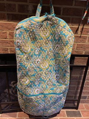Vera Bradley garment bag in Peacock for Sale in Virginia Beach, VA