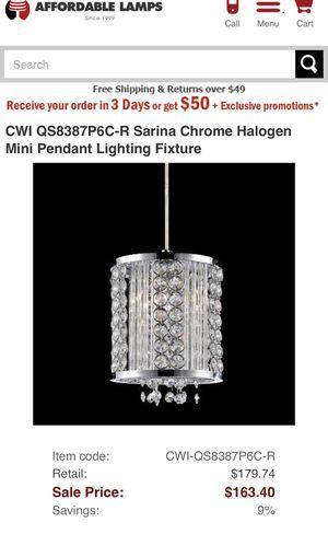 Mini Pendant lighting fixture for Sale in Boston, MA