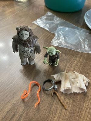 Star Wars vintage toys YODA COMPLETE for Sale in Chicago, IL