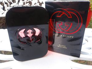 Brand New In Box authentic Gucci Guilty Black Women's Perfume. 75ml. 2.5 FL. Oz. for Sale in Longwood, FL