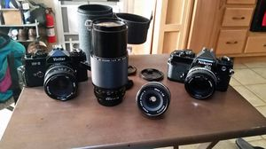 35mm cameras and lenses for Sale in San Francisco, CA