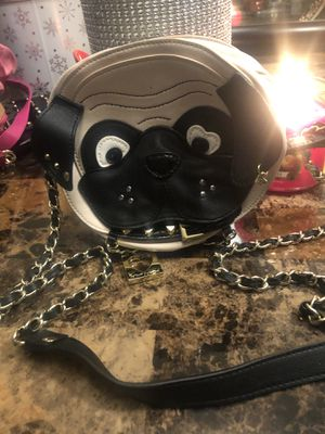 Betsey Johnson Pug Bag for Sale for sale  Queens, NY